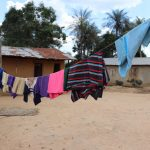 The Water Project: Kamasondo, Borope Village School -  Clothes Line