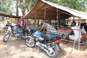 The Water Project:  Motor Bike Packing Ground
