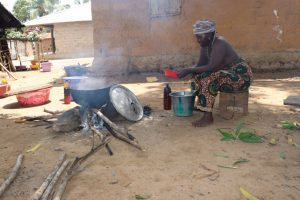 The Water Project:  Old Woman Cooking