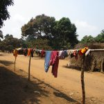The Water Project: Lokomasama, Gbonkogbonko Village -  Clothes Line