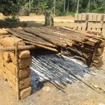 The Water Project: Lokomasama, Gbonkogbonko Village -  Fish Rack Where Community Members Dry Fishes