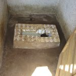The Water Project: Lokomasama, Gbonkogbonko Village -  Inside Latrine