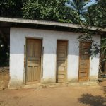 The Water Project: Lokomasama, Gbonkogbonko Village -  Latrine