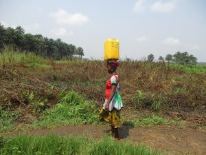 The Water Project:  Woman Carrying