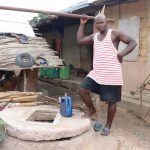 The Water Project: Kamasondo, Borope Village, Main Motor Rd. Junction -  Owner Of Damaged Well