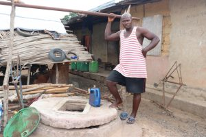 The Water Project:  Owner Of Damaged Well