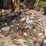 The Water Project: Kamasondo, Borope Village, Main Motor Rd. Junction -  Rubbish