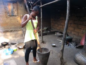 The Water Project:  Lady Pounding Pepper