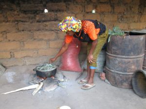 The Water Project:  Woman Cooking