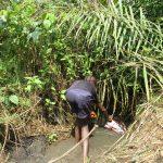 The Water Project: Lokomasama, Satamodia Village -  Small Boy Collecting Water