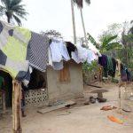 The Water Project: Kamasondo, Masinneh Village -  Clothes Line