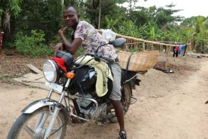 The Water Project:  Motor Bike Driver