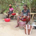 The Water Project: Kamasondo, Masinneh Village -  Woamen Preparing Food