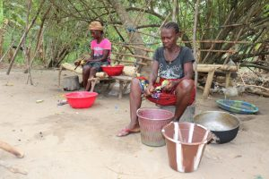 The Water Project:  Woamen Preparing Food