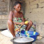 The Water Project: Kamasondo, Masinneh Village -  Woman Preparing Food