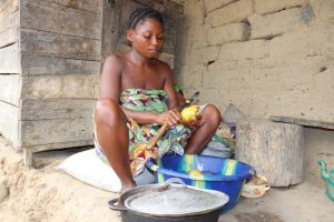 The Water Project:  Woman Preparing Food