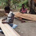 The Water Project: Kamasondo, Masinneh Village -  Women Making Matt