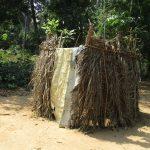 The Water Project: Lokomasama, Kennenday Village -  Bath Shelter