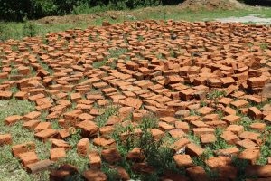 The Water Project:  Bricks Lay Ready