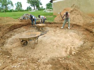The Water Project:  Rain Tank Excavation