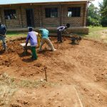 The Water Project: Sawawa Secondary School -  Excavation For Tank Foundation