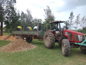 The Water Project:  Unloading Gravel