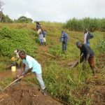 The Water Project: Kalenda A Community, Webo Simali Spring -  Site Clearance