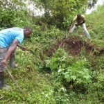 The Water Project: Rosterman Community, Lishenga Spring -  Site Clearance