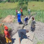 The Water Project: Bukhaywa Community, Shidero Spring -  Site Excavation