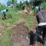 The Water Project: Emurumba Community, Makokha Spring -  Site Clearance