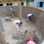 The Water Project: Saride Primary School -  Wall And Pillar Work