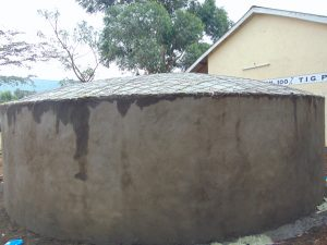 The Water Project:  Dome Structure Ready For Cement