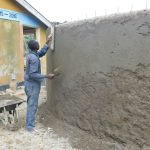 The Water Project: Sawawa Secondary School -  Roughcasting Outer Wall