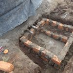 The Water Project: Chiliva Primary School -  Access Point Construction