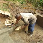 The Water Project: Maondo Community, Ambundo Spring -  Cement Work