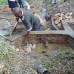 The Water Project: Bukhaywa Community, Shidero Spring -  Backfilling