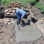 The Water Project: Mukangu Community, Metah Spring -  Stair Construction