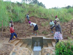 The Water Project:  Grass Planting