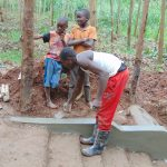 The Water Project: Imusutsu Community, Ikosangwa Spring -  Stair Plaster