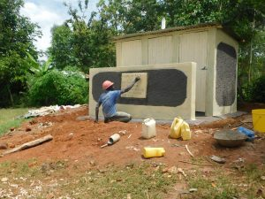The Water Project:  Construction Of Vip Latrine