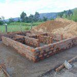 The Water Project: Friends School Ikoli Secondary -  Latrine Brick Work