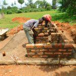The Water Project: Bumbo Primary School -  Latrine Brickwork
