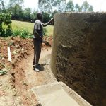 The Water Project: Hobunaka Primary School -  Exterior Cement