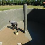The Water Project: Hobunaka Primary School -  Plaster Work