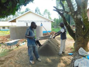 The Water Project:  Sifting Materials