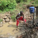 The Water Project: Rosterman Community, Lishenga Spring -  Clayworks