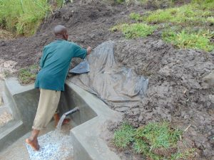 The Water Project:  Securing The Tarp