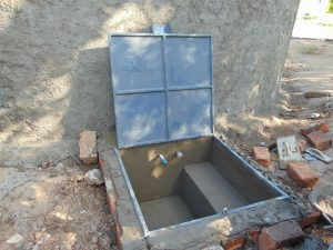 The Water Project:  Access Box Progress