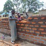 The Water Project: Friends School Ikoli Secondary -  Latrine Wall Construction