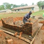 The Water Project: Bumbo Primary School -  Latrine Brick Work